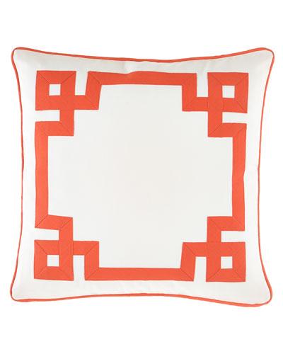 Mikado Fret Pillow