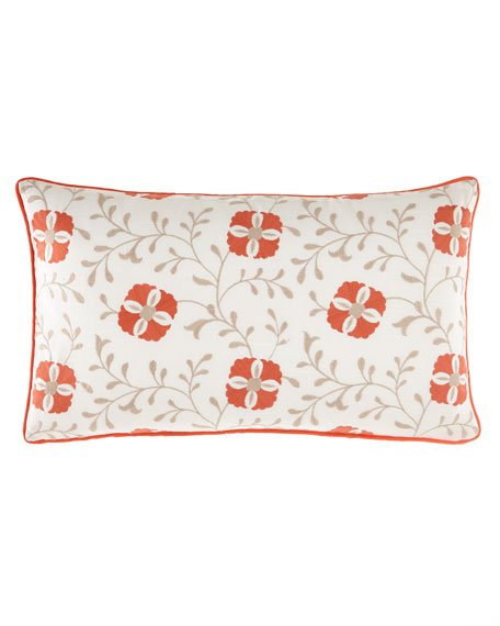 Mikado Embroidered Pillow
