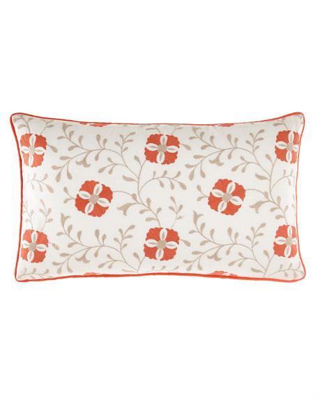 Mikado Embroidered Pillow