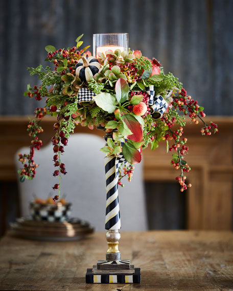 Autumn Sunset Grand Candle Stand