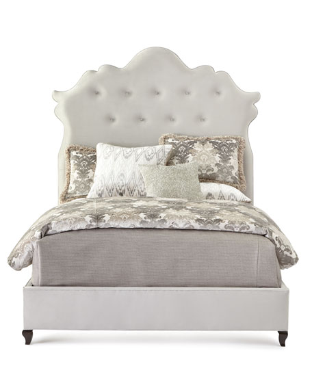 Arabella Tufted King Bed