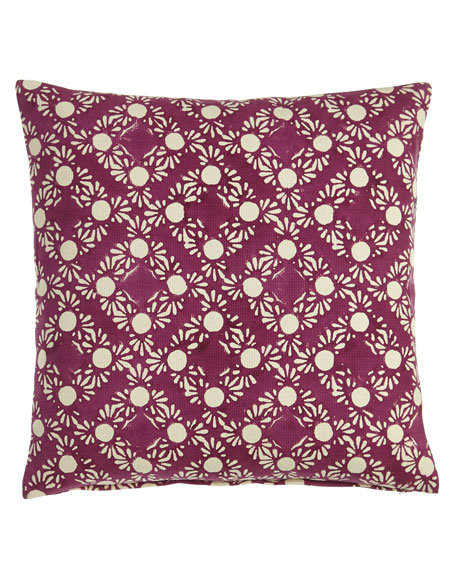 "Simi Pillow, 20""Sq."