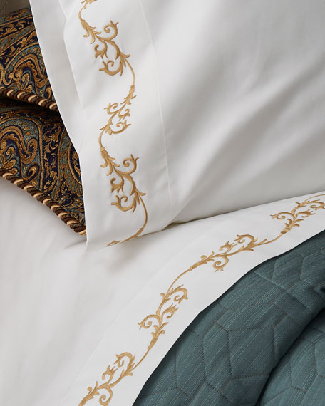 King 420TC Serenade Fitted Sheet