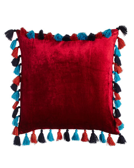 "Macarena Pillow, 18""Sq."
