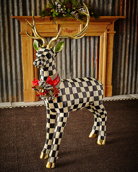 Courtly Check Standing Deer