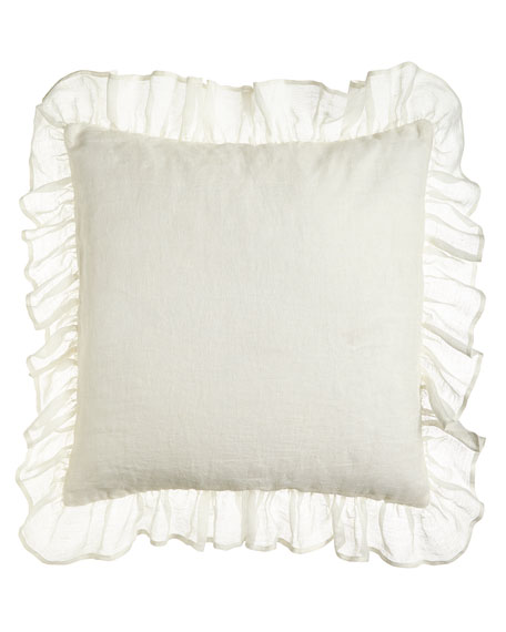 Savannah Ruffled European Sham