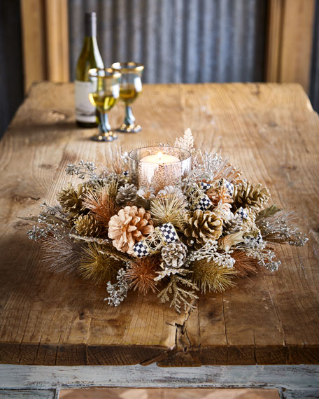 Precious Metals Candle Centerpiece