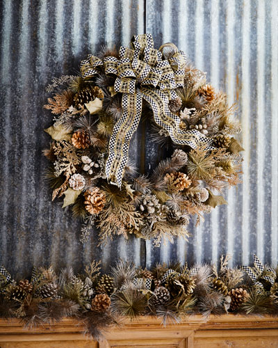 Large Precious Metals Wreath