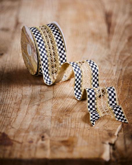 Precious Metals Holiday Ribbon, 10 Yards