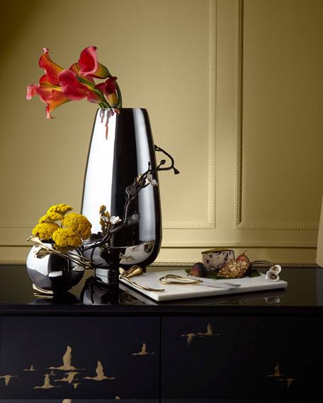 Calla Lily Rose Bowl Vase