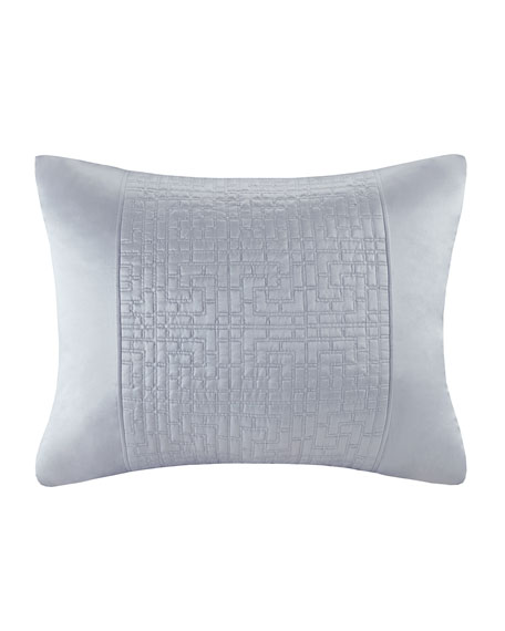 Quilted Duvet Sham, Standard, White Orchid