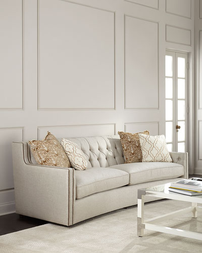 Karine Tufted Back Sofa 96 Quick Look. Bernhardt