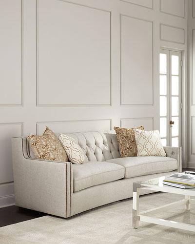 Karine Tufted-Back Sofa