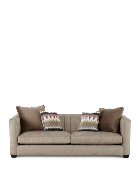 Hank Channel-Tufted Sofa