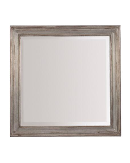 Visage Metal Landscape Mirror