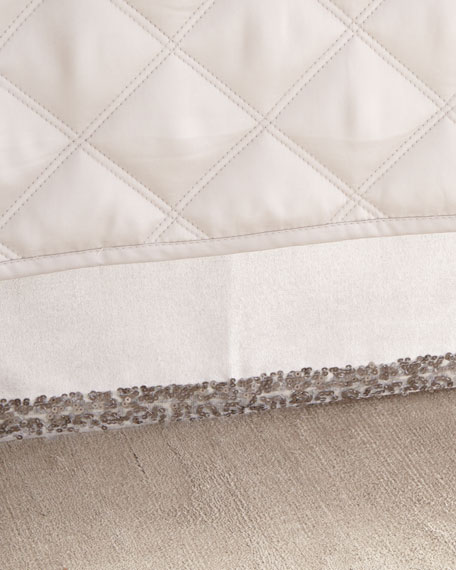 Pine Cone Hill Full/Queen Sequin Tipped Velvet Dust