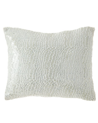 Gloss Velvet Decorative Pillow, 16