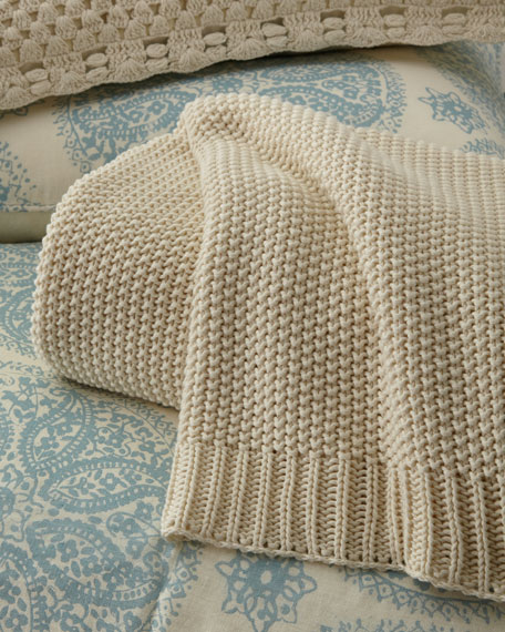 King Remy Knit Blanket