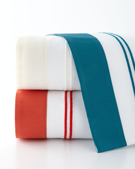 Queen Royal Sateen Fitted Sheet