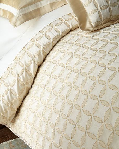 Circumference Queen Coverlet