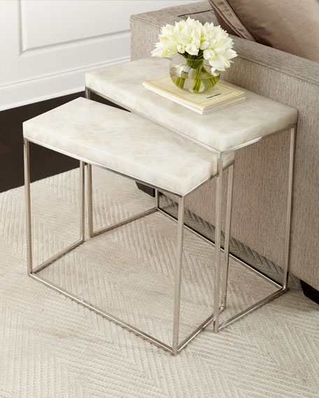 Taylor Stainless Steel Nesting Tables