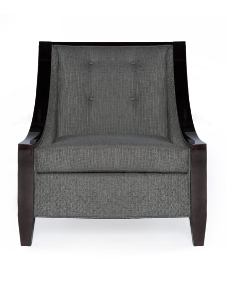Herringbone Accent Chair
