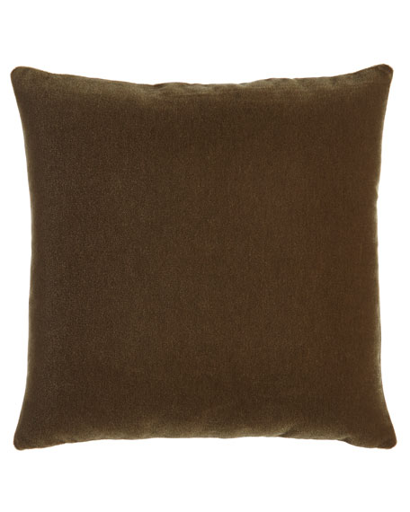 "Bach Truffle Pillow, 20""Sq."