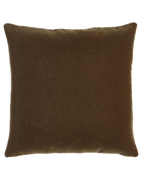 """Bach Truffle Pillow, 20""""Sq."""