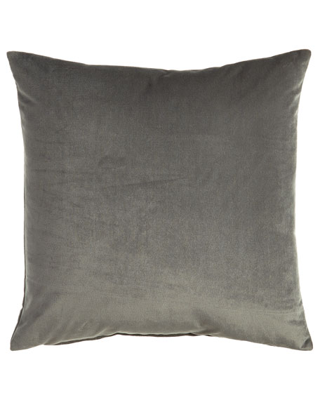 Nellis Dolphin (Gray) Pillow