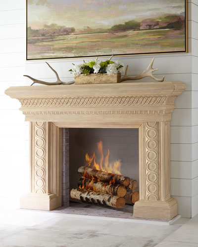 Fireplace Screens Amp Mantels At Horchow