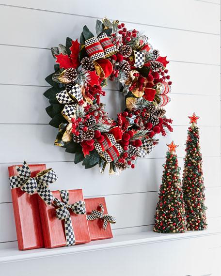 Tartan Frost Wreath
