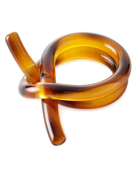 Tortoise Knot Napkin Ring