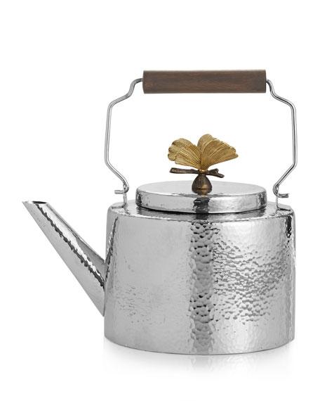 Butterfly Ginkgo Teapot