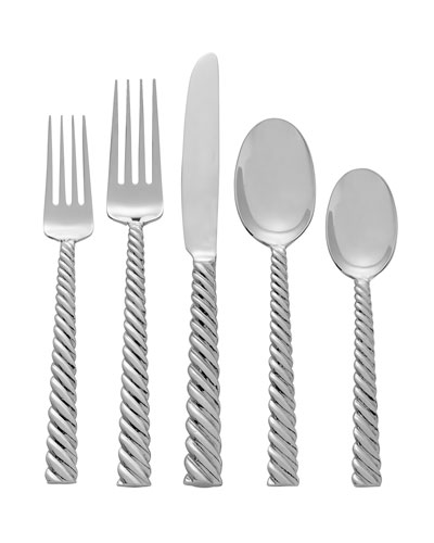 Twist 5-Piece Flatware Set