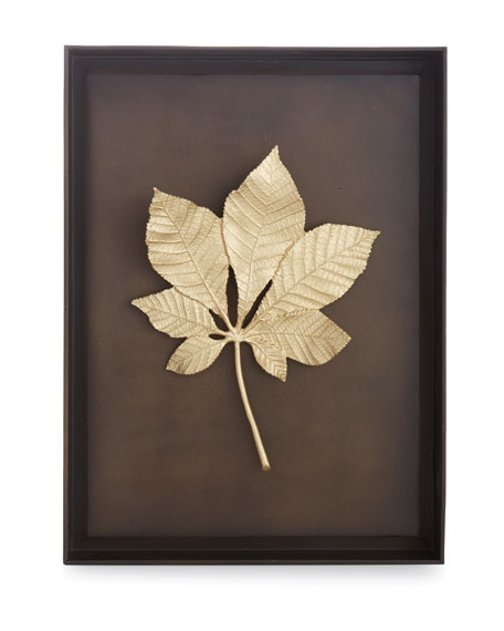 Chestnut Leaf Shadow Box