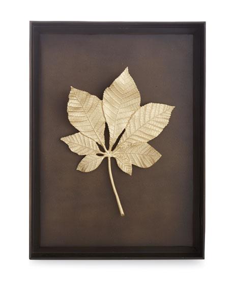 Chestnut Leaf Shadow Box