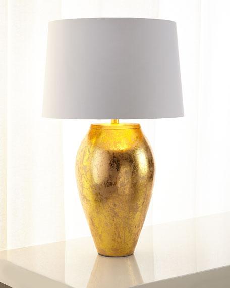Goldfoil Table Lamp