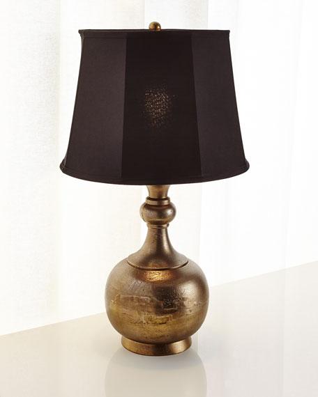 Textured Aluminum Lamp