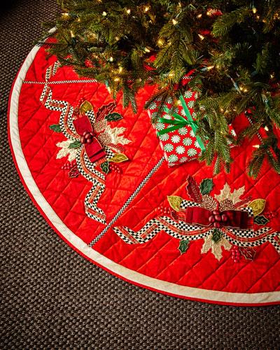 Tartan Frost Tree Skirt