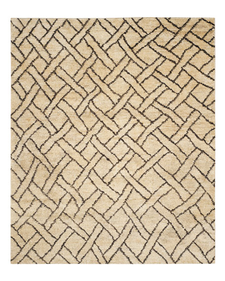 Fairfield Natural Rug, 6' x 9'