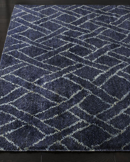 Fairfield Indigo Rug, 6' x 9'