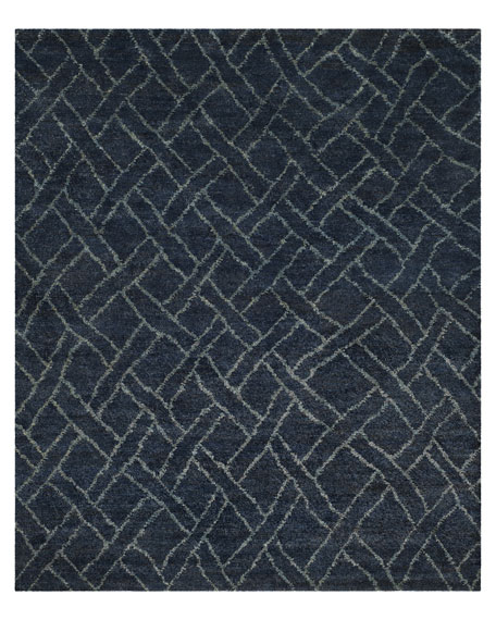 Fairfield Indigo Rug, 8' x 10'