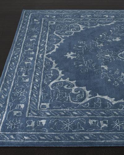Jaycee Blue Hand-Tufted Rug  4' x 6'