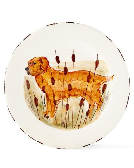 4 Assorted Wildlife Salad Plates
