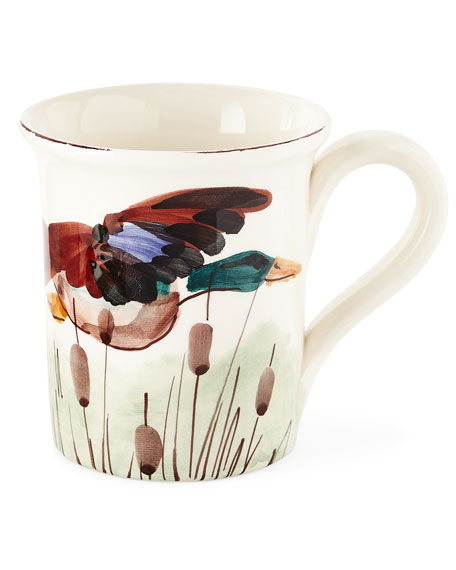 4 Assorted Wildlife Mugs