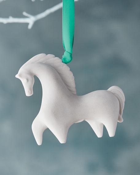 - Jonathan Adler Horse Christmas Ornament