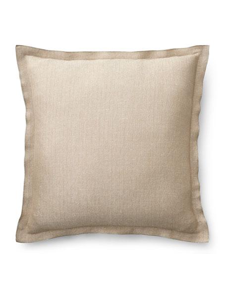 Josephina Metallic Herringbone Pillow