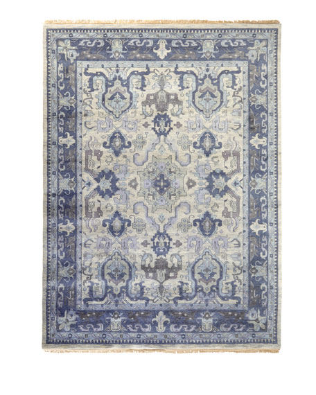 "Castle Hand-Knotted Runner, 2'6"" x 8'"