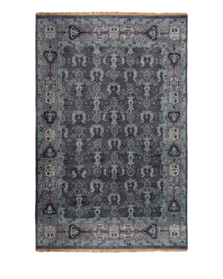 Remie Hand-Knotted Rug, 8' Round