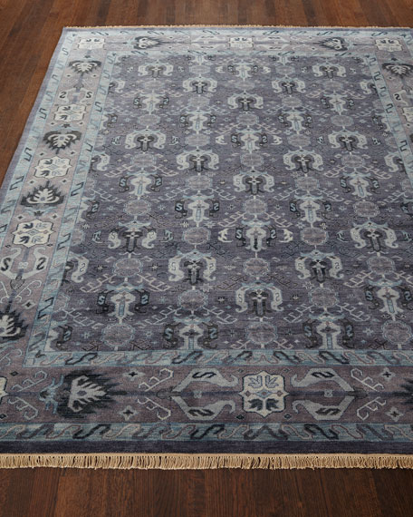 """Remie Hand-Knotted Mat, 3'9"""" x 5'9"""""""